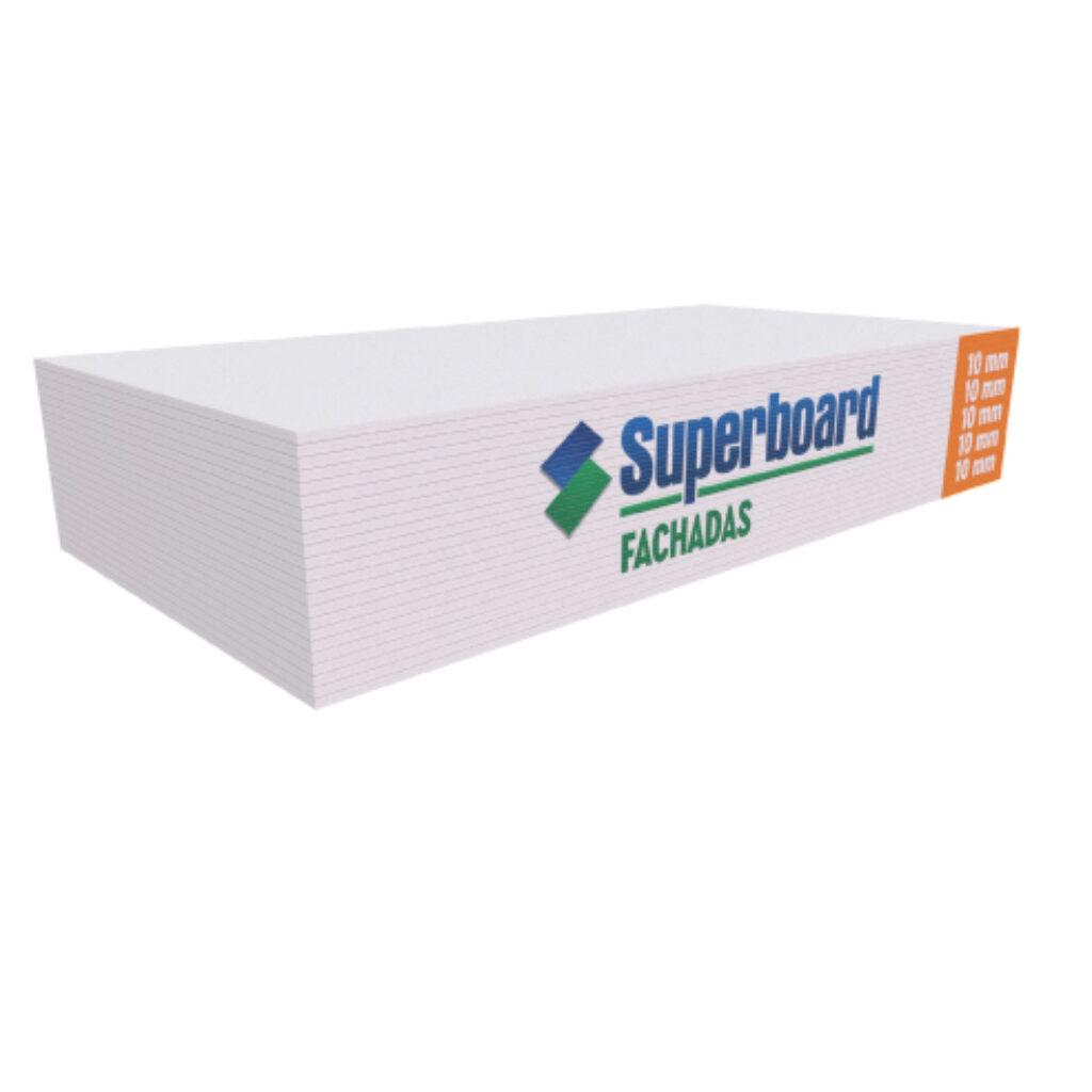 Superboard Fachadas Placas de Cemento de 10 mm
