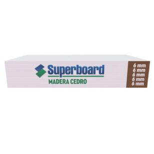 Placa de Cemento Superboard Madera Cedro